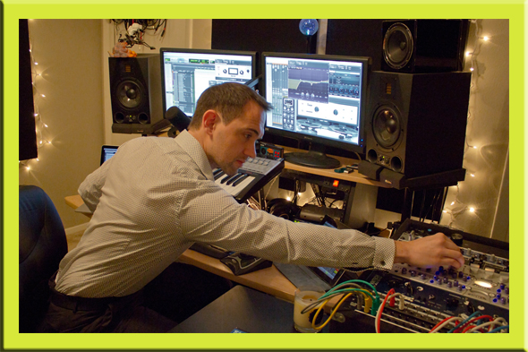 Aaron Brown Sound - Award Winning Sound Designer, Composer, and Audio Engineer