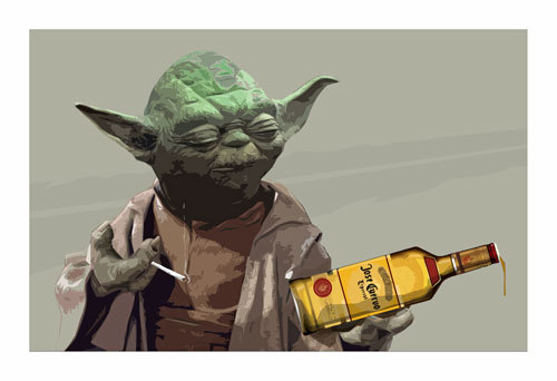 Pour one for my ex LucasArts Homies! (Image by BigBadRobot)