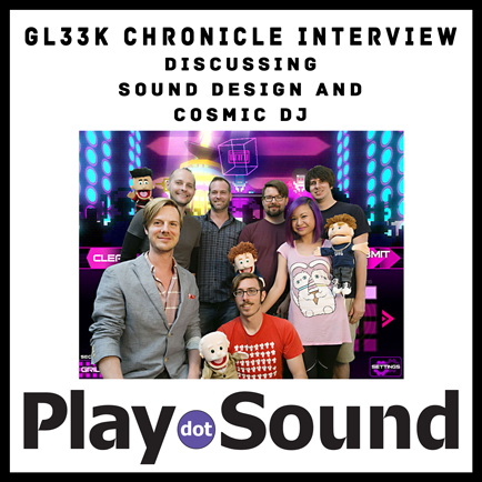 Austin Chronicle - Gl33k Sound Design and Cosmic DJ Interview!