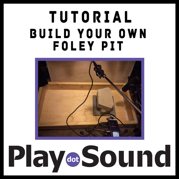 Build Your Own Foley Pit